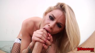 Jessa Rhodes In Hot Maid Outfit