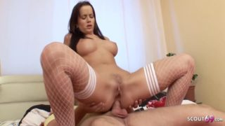 Cindy Dollar In Young Stepmom Seduces Him To Fuck Her Anally When Home Alone