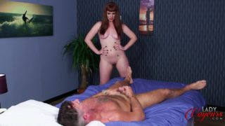 Zoe Page Makes Kinky Guy Cum With Heavenly Pleasure