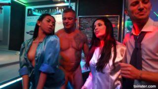 Sizzling Milf Sluts Have Fun At Drunk Sex Orgy