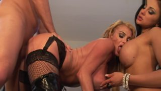 Two Bisexual Milfs With Big Boobs Get A Facial